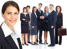Business people team Royalty Free Stock Images