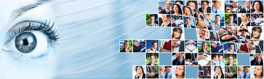 Free Business People Team Collage. Royalty Free Stock Photos - 31414428