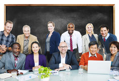 Business People Team Connection Togetherness Concept Royalty Free Stock Images