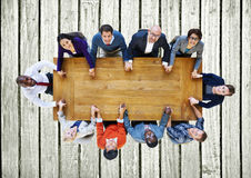 Business People Team Connection Togetherness Concept Stock Photography