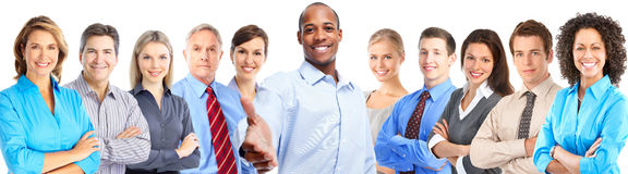 Business people team. Royalty Free Stock Photography