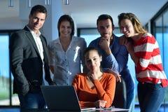 Business people team on meeting Stock Image