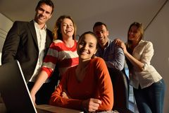 Business people team on meeting Stock Images