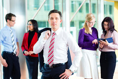 Business people or team in office Royalty Free Stock Image