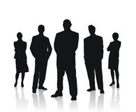 Business people team vector illustration. High traced quality business people team vector illustration stock illustration
