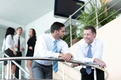 Business people team working in the modern office Royalty Free Stock Images