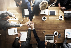 Business People Teamwork Collaboration Relation Concept Royalty Free Stock Photography