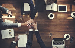 Business People Teamwork Collaboration Relation Concept Royalty Free Stock Images