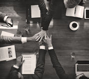 Business People Teamwork Collaboration Relation Concept Royalty Free Stock Photo