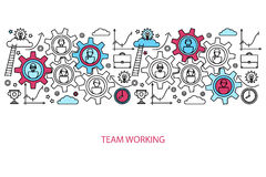 Business people teamwork concept Stock Images