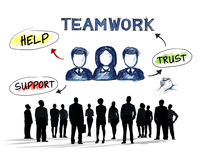 Business People and Teamwork Concepts Stock Photo