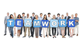 Business People and Teamwork Concepts Royalty Free Stock Images