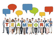 Business People and Teamwork Concepts Stock Images