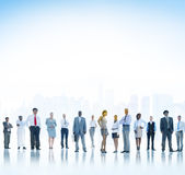 Business People Teamwork Confidence Aspiration Concept Royalty Free Stock Images