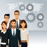 Business people teamwork cooperation success Stock Photo