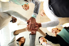 Business people teamwork in an office Stock Photo