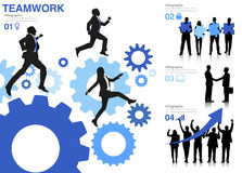 Business People Teamwork Successful Motivation Concept Royalty Free Stock Image