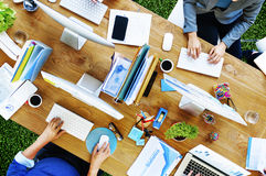 Business People Technology Working Office Concept royalty free stock images