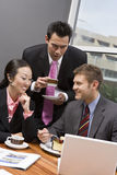 Business People At Their Coffee Break Royalty Free Stock Image