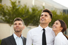 Business People thinking about future. Business Concept Royalty Free Stock Images