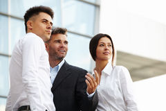 Business People thinking about future. Business Concept Stock Photos