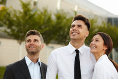 Business People thinking about future. Business Concept Stock Photography