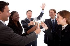 Business people toasting Stock Image