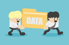 Business people transfer Files data. Eps.10 stock illustration