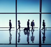 Business People Travel Office Concepts Stock Photography