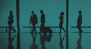 Business People Travel Passenger Walking Concept Royalty Free Stock Photography