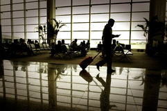 Business people traveling Royalty Free Stock Images