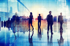 Business People Urban Scene Organization Team City Life. Concept Royalty Free Stock Photo