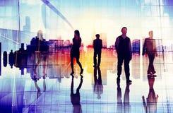Business People Urban Scene Organization Team Concept stock images