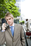 Business people - Using Cell Stock Photos