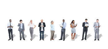 Business People Using Digital Devices Royalty Free Stock Photos