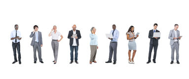 Business People Using Digital Devices Royalty Free Stock Photo