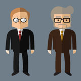 Business people, Vector Flat design. Business people. Vector flat design Royalty Free Stock Images