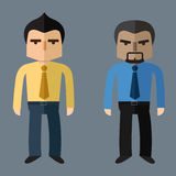 Business people, Vector Flat design. Business people. Vector flat design Royalty Free Stock Photo