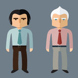 Business people. Vector Flat design. Business people, Vector Flat design Stock Image