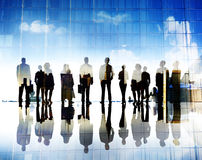 Business People Vision Aspiration Goals Corporate City Concept Stock Photos