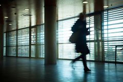 Business people walking Stock Images
