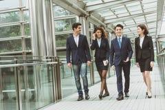Business people walking Stock Photos