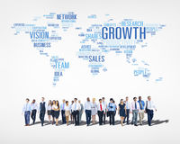 Business People Walking Royalty Free Stock Photography