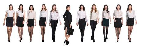 Business people walking Royalty Free Stock Photo