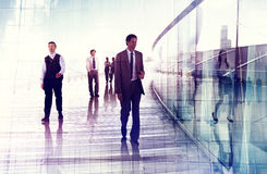 Business People Walking Professional Urban City Concept Royalty Free Stock Image