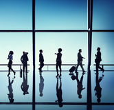 Business People Walking Waiting Office Concept Royalty Free Stock Image