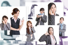 Business people wall Stock Photo