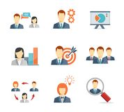 Business people for Web and Mobile App Royalty Free Stock Images