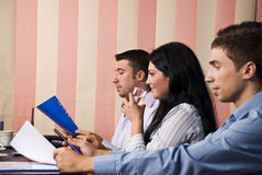 Business people at work Royalty Free Stock Photography