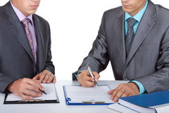 Business people work stock photography